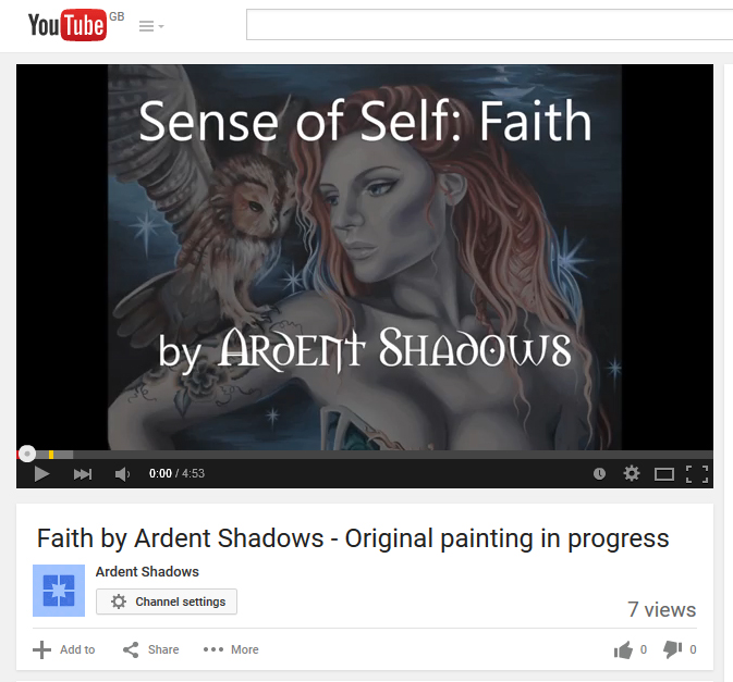 Faith on Youtube