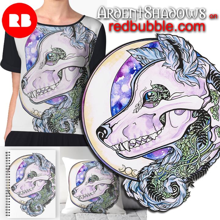 wolf-skull